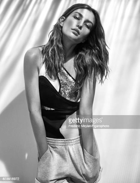 Model Andreea Diaconu the new face of Messika poses for Madame Figaro on May 18 2017 in Paris France Body shorts PUBLISHED IMAGE CREDIT MUST READ...