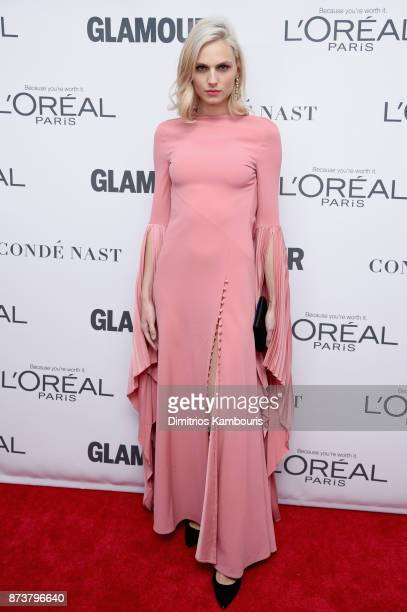 Model Andreja Pejic attends Glamour's 2017 Women of The Year Awards at Kings Theatre on November 13 2017 in Brooklyn New York