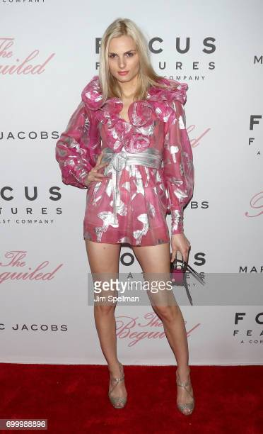Model Andreja Pejic attends 'The Beguiled' New York premiere at The Metrograph on June 22 2017 in New York City