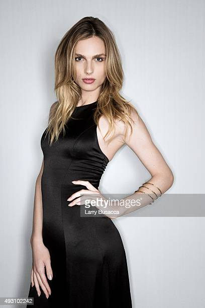 Model Andreja Pejic attends The Daily Front Row's Third Annual Fashion Media Awards at the Park Hyatt New York on September 10 2015 in New York City