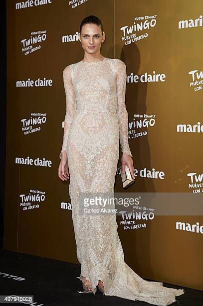 Model Andreja Pejic attends the Marie Claire Prix de la Moda 2015 at the Callao cinema on November 19 2015 in Madrid Spain