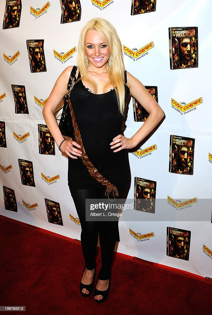 Model Angel Monroe arrives Premiere Of '6 Degrees Of Hell' - Arrivals held at Laemmle Music Hall 3 on November 20, 2012 in Beverly Hills, California.