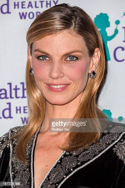 Model Angela Lindvall arrives at Mom On A Mission's 5th Annual Awards Gala on November 6 2013 in Pacific Palisades California
