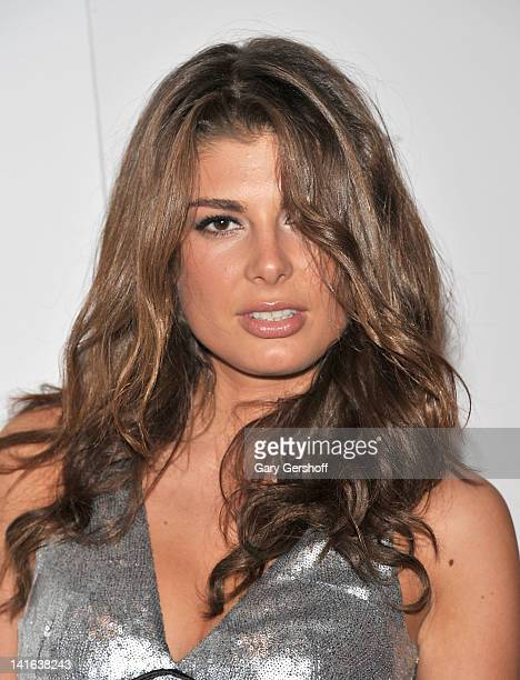 Model Angela Martini attends the 'Bully' screening at The Paley Center for Media on March 20 2012 in New York City