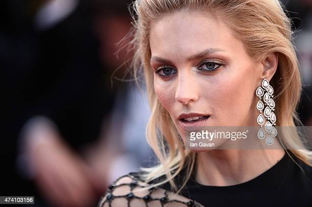 Model Anja Rubik attends the Premiere of 'Youth' during the 68th annual Cannes Film Festival on May 20 2015 in Cannes France
