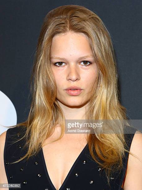 Model Anna Ewers attends the 2015 CLIO Awards at The Plaza Hotel on May 5 2015 in New York City
