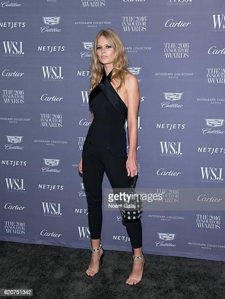 Model Anna Ewers attends the WSJ Magazine Innovator Awards at Museum of Modern Art on November 2 2016 in New York City