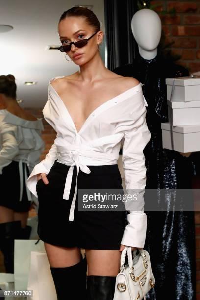 Model Annabella Barber attends THE OUTNET In Residence Dinner on November 7 2017 in New York City
