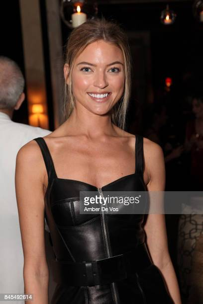 Model Annabella Barber attends Town Country Magazine's Modern Swans Celebrationon at The Carlyle September 10 2017 in New York City
