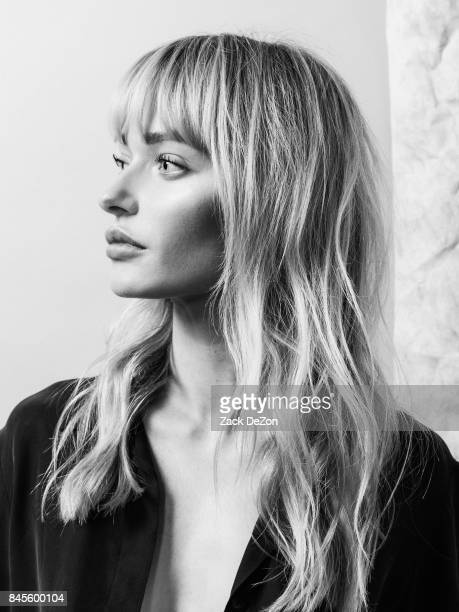 Model Annabella Barber poses for a portrait during the Daily Front Row's Fashion Media Awards at Four Seasons Hotel New York Downtown on September 8...