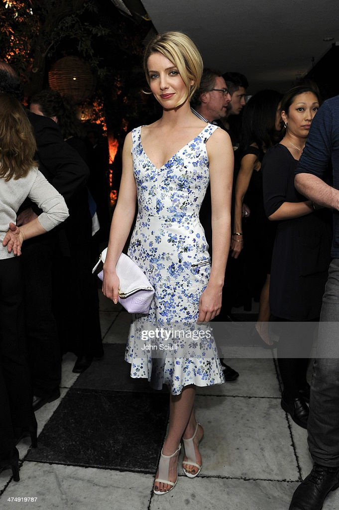 Model <a gi-track='captionPersonalityLinkClicked' href=/galleries/search?phrase=Annabelle+Wallis&family=editorial&specificpeople=5645087 ng-click='$event.stopPropagation()'>Annabelle Wallis</a> attends 'Decades of Glamour' presented by BVLGARI on February 25, 2014 in West Hollywood, California.