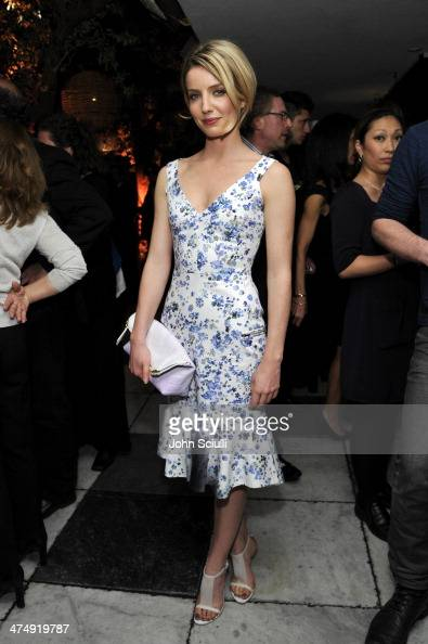 Model Annabelle Wallis attends 'Decades of Glamour' presented by BVLGARI on February 25 2014 in West Hollywood California