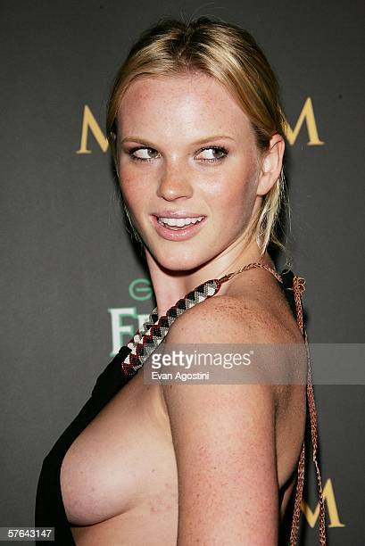 Model Anne V attends Maxim Magazine's 7th Annual Hot 100 party at Buddha Bar May 17 2006 in New York City