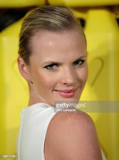 Model Anne Vyalitsyna attends 7th Annual Charity Ball benefiting CharityWater at the 69th Regiment Armory on December 10 2012 in New York City