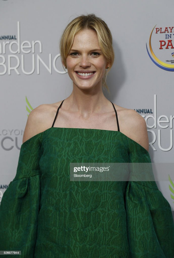 Model Anne Vyalitsyna attends the 23rd Annual White House Correspondents' Garden Brunch in Washington, D.C., U.S., on Saturday, April 30, 2016. The event will raise awareness for Halcyon Incubator, an organization that supports early stage social entrepreneurs 'seeking to change the world' through an immersive 18-month fellowship program. Photographer: Andrew Harrer/Bloomberg via Getty Images