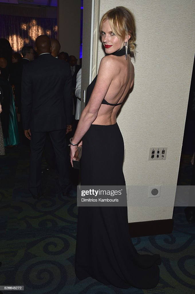 Model Anne Vyalitsyna attends the Yahoo News/ABC News White House Correspondents' Dinner Pre-Party at Washington Hilton on April 30, 2016 in Washington, DC.