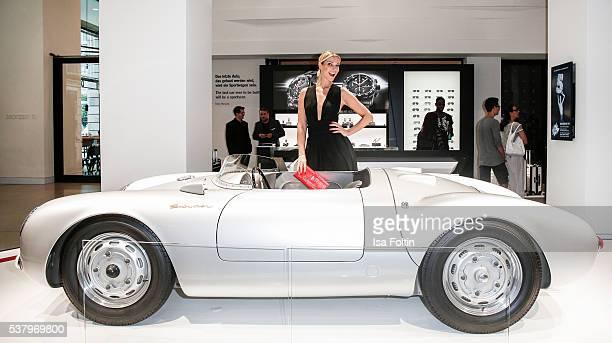 Model Annika Gassner attends the 5th Nachtschicht Berlin Design Night on June 3 2016 in Berlin Germany