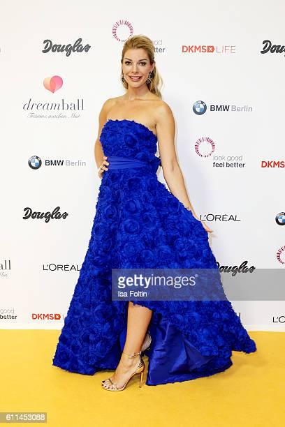 Model Annika Gassner attends the Dreamball 2016 at Ritz Carlton on September 29 2016 in Berlin Germany
