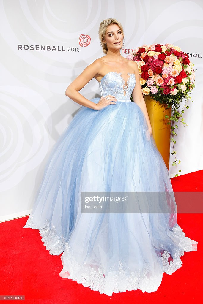 Model Annika Gassner attends the Rosenball 2016 on April 30, 2016 in Berlin, Germany.