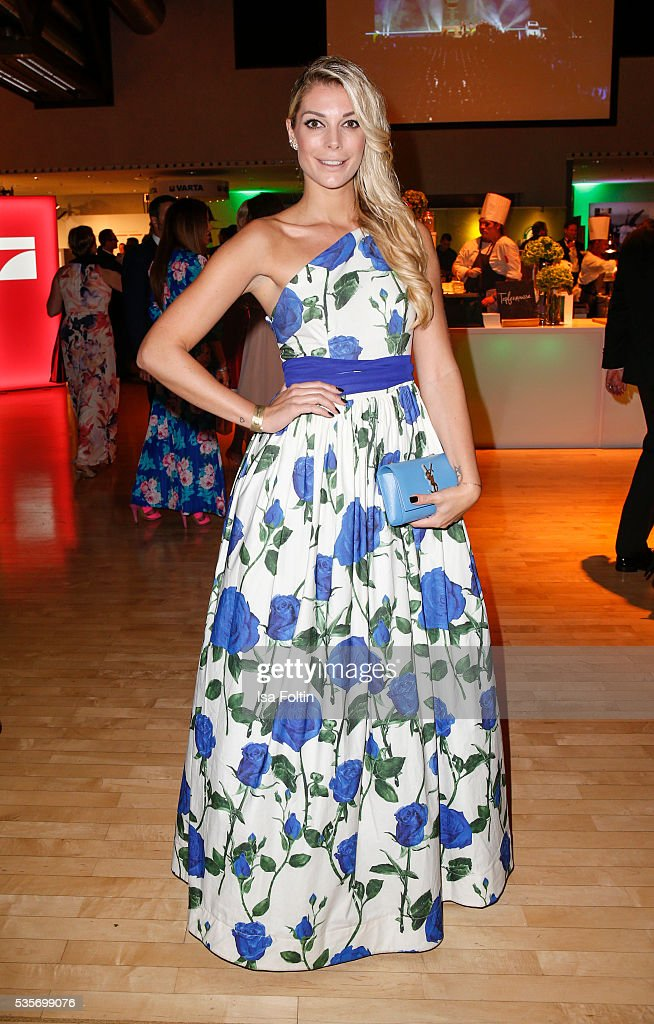 Model Annika Gassner during the Green Tec Award After Show Party at ICM Munich on May 29, 2016 in Munich, Germany.