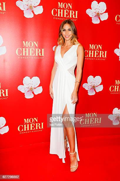 Model AnnKathrin Broemmel attends the Mon Cheri Barbara Tag at Postpalast on December 2 2016 in Munich Germany