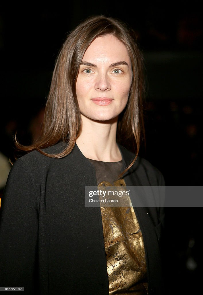 Model <a gi-track='captionPersonalityLinkClicked' href=/galleries/search?phrase=Anouck+Lepere&family=editorial&specificpeople=779132 ng-click='$event.stopPropagation()'>Anouck Lepere</a> attends the after party for 'The Weinstein Company Presents The LA Premiere Of 'Mandela: Long Walk To Freedom' Supported By Burberry' at Warwick on November 11, 2013 in Los Angeles, California.