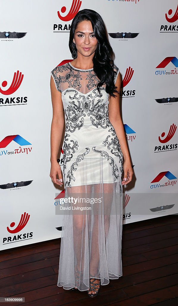 Model Antoinette Kalaj attends the Philhellenes Gala at SkyBar at the Mondrian Los Angeles on October 9, 2013 in West Hollywood, California.