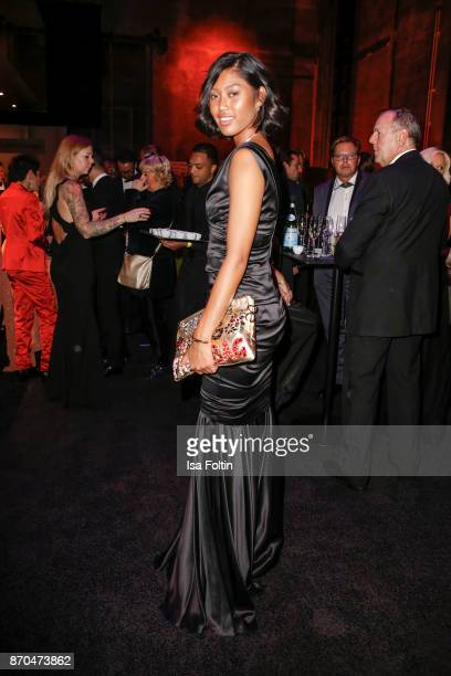 Model Anuthida Ploypetch attends the aftershow party during during the 24th Opera Gala at Deutsche Oper Berlin on November 4 2017 in Berlin Germany