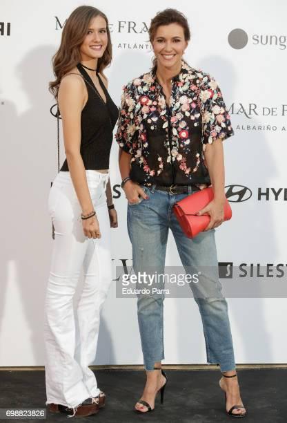 Model Arancha del Sol attends the 'La Moda en la calle by Telva' event at Las Ventas bullring on June 20 2017 in Madrid Spain