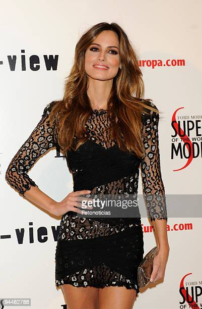 Model Ariadne Artiles attends 'Lancia Supermodel of The World' final selection at the Italian Consulate on December 15 2009 in Madrid Spain
