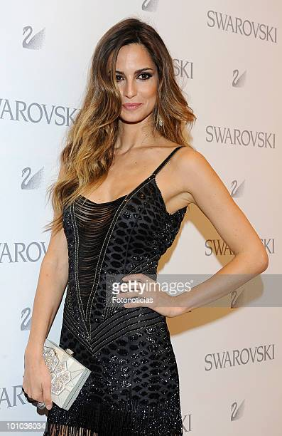 Model Ariadne Artiles attends the opening of the new Swarovski boutique on Gran Via street on May 27 2010 in Madrid Spain
