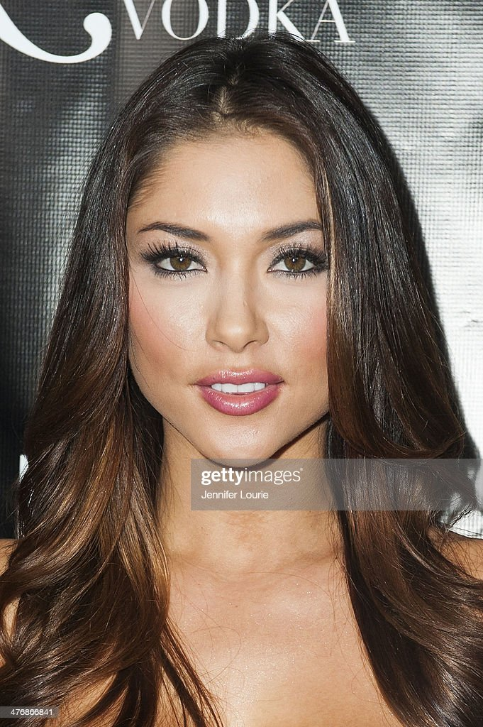 Model <a gi-track='captionPersonalityLinkClicked' href=/galleries/search?phrase=Arianny+Celeste&family=editorial&specificpeople=4900711 ng-click='$event.stopPropagation()'>Arianny Celeste</a> arrives at the Naluda Magazine March Issue launch party with cover girl Joyce Giraud hosted at the Luxe Rodeo Drive Hotel on March 4, 2014 in Beverly Hills, California.
