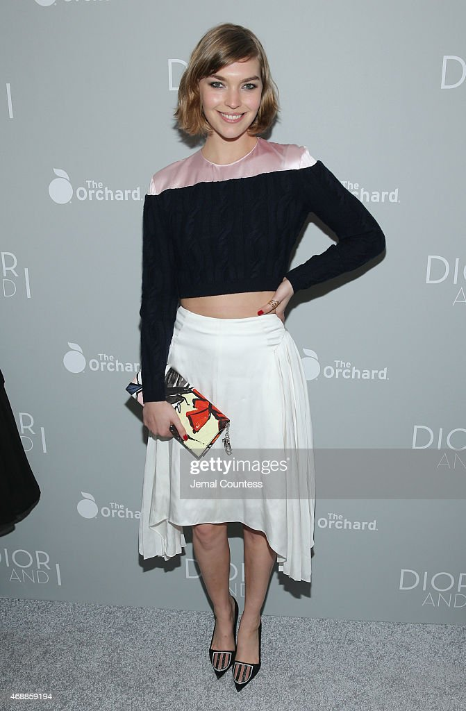 Model Arizona Muse attends 'The Orchard's DIOR & I' New York screening at Paris Theater on April 7, 2015 in New York City.
