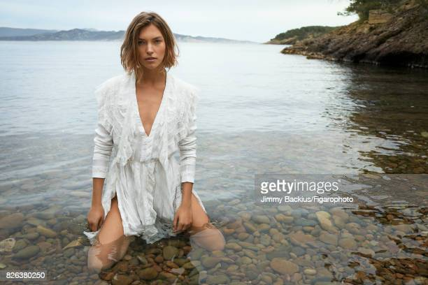 Model Arizona Muse poses for Madame Figaro on May 22 2017 in La Ciotat France Dress PUBLISHED IMAGE CREDIT MUST READ Jimmy...