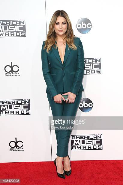 Model Ashley Benson arrives at the 2015 American Music Awards at Microsoft Theater on November 22 2015 in Los Angeles California