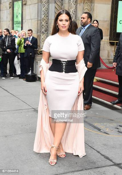 Model Ashley Graham at Variety Power Women Lucheon on April 21 2017 in New York City