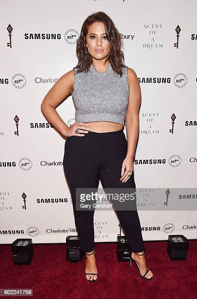 Model Ashley Graham attends Charlotte Tilbury x Samsung at 837 Washington on September 10 2016 in New York City