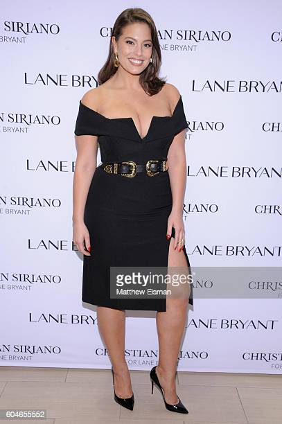 Model Ashley Graham attends Christian Siriano x Lane Bryant PA on September 13 2016 in New York City
