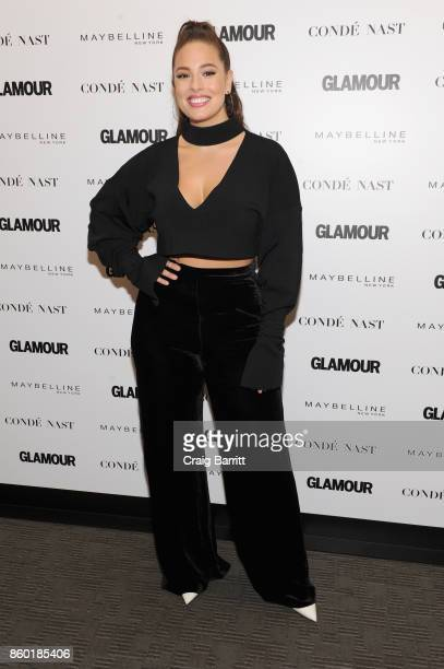 Model Ashley Graham attends Glamour's 'The Girl Project' on the International Day of the Girl on October 11 2017 in New York City