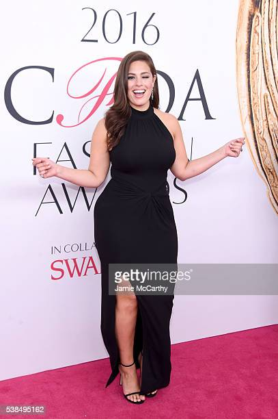 Model Ashley Graham attends the 2016 CFDA Fashion Awards at the Hammerstein Ballroom on June 6 2016 in New York City