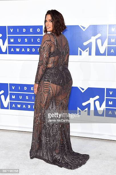 Model Ashley Graham attends the 2016 MTV Video Music Awards at Madison Square Garden on August 28 2016 in New York City