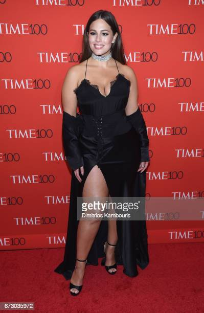 Model Ashley Graham attends the 2017 Time 100 Gala at Jazz at Lincoln Center on April 25 2017 in New York City
