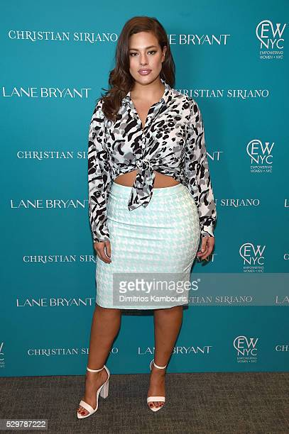 Model Ashley Graham attends the Empowering Women Summit at United Nations on May 9 2016 in New York City
