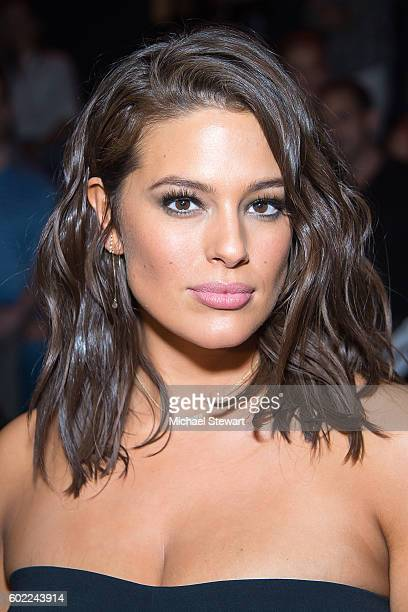 Model Ashley Graham attends the Jonathan Simkhai fashion show during September 2016 MADE Fashion Week The Shows at The Arc Skylight at Moynihan...