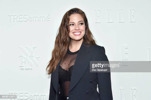 Model Ashley Graham attends the NYFW Kickoff Party A Celebration Of Personal Style hosted by E ELLE IMG and sponsored by TRESEMME on September 6 2017...