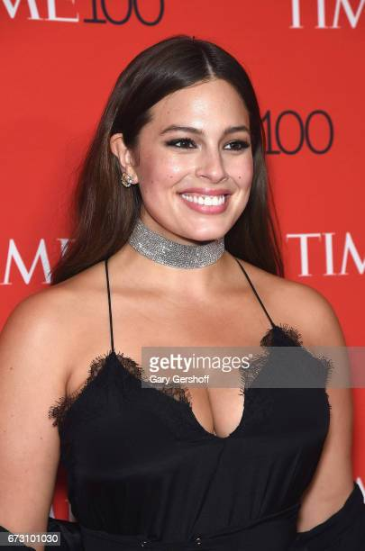Model Ashley Graham attends the Time 100 Gala at Frederick P Rose Hall Jazz at Lincoln Center on April 25 2017 in New York City