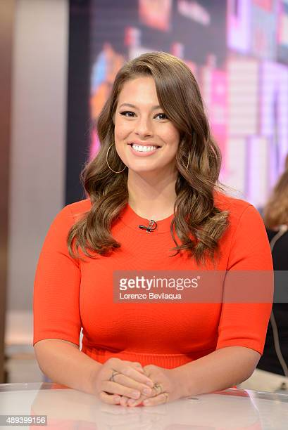 AMERICA Model Ashley Graham is a guest on 'Good Morning America' 9/18/15 airing on the ABC Television Network