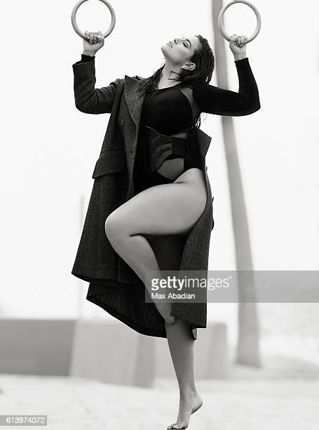 Model Ashley Graham is photographed for Elle Canada on June 5 2016 in Los Angeles California ON DOMESTIC EMBARGO UNTIL JANUARY 1 2017 ON...
