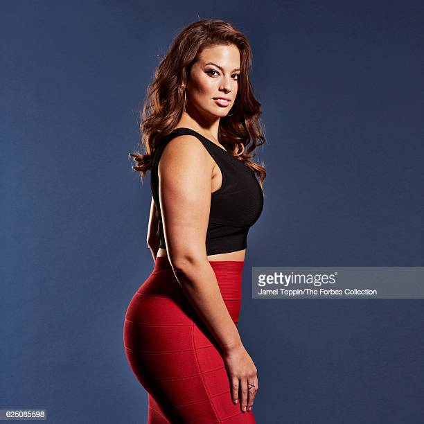 Model Ashley Graham is photographed for Forbes Magazine in December 2015 in New York City CREDIT MUST READ Jamel Toppin/The Forbes Collection/Contour...