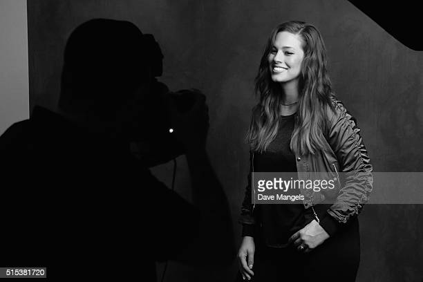 Model Ashley Graham is seen behind the scenes in the Getty Images SXSW Portrait Studio powered by Samsung on March 12 2016 in Austin Texas